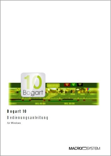 Bogart 10 Windows Handbuch