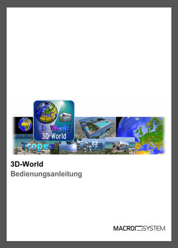 Handbuch 3D World für Windows