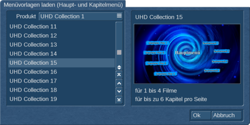 U/HD Collection 1 für Bogart Windows